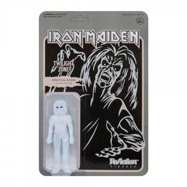 Iron Maiden ReAction Actionfigur Twilight Zone (Single Art)
