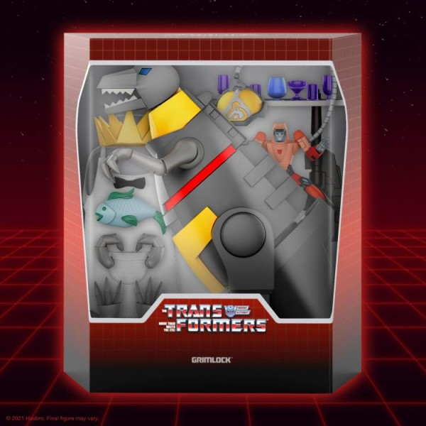 Transformers Ultimates Actionfigur Grimlock (Dino Mode)