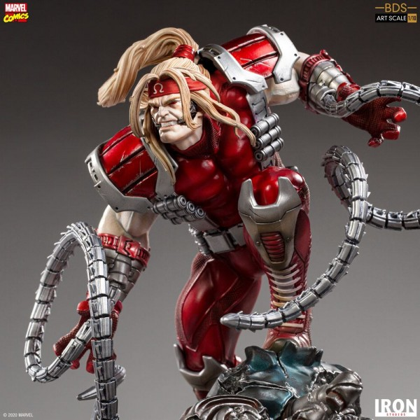 Marvel Comics BDS Art Scale Statue 1/10 Omega Red