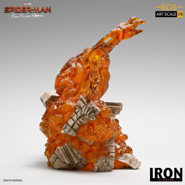 Spider-Man: Far From Home BDS Art Scale Statue 1/10 Molten Man