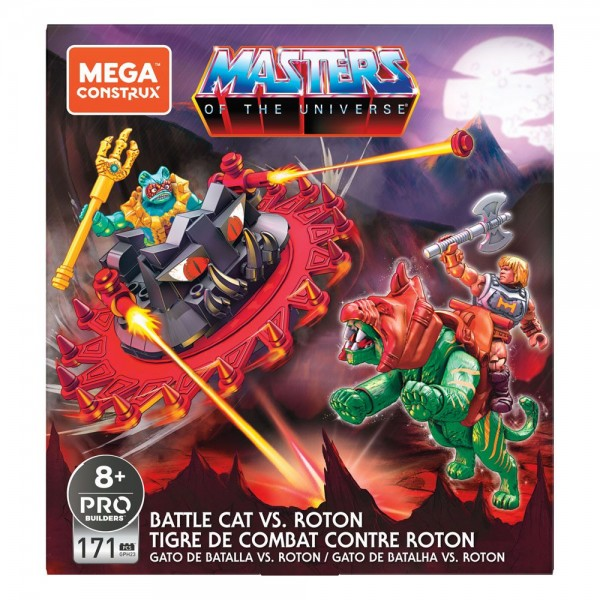 Masters of the Universe Mega Construx Probuilder Bauset Battle Cat vs. Roton