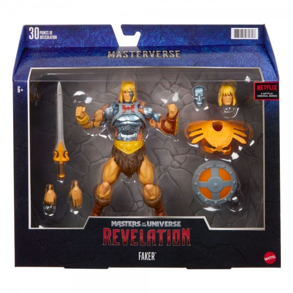 Masters of the Universe: Revelation Actionfigur Faker (Deluxe)