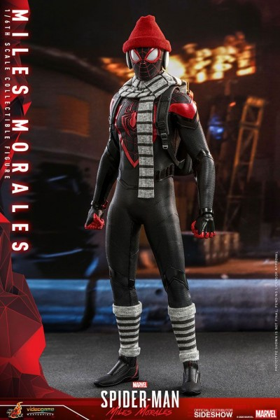 Spider-Man Video Game Masterpiece Actionfigur 1/6 Miles Morales