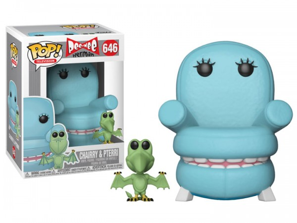 Pee-Wee's Playhouse Funko Pop! Vinylfigur Chairry with Pterri 646