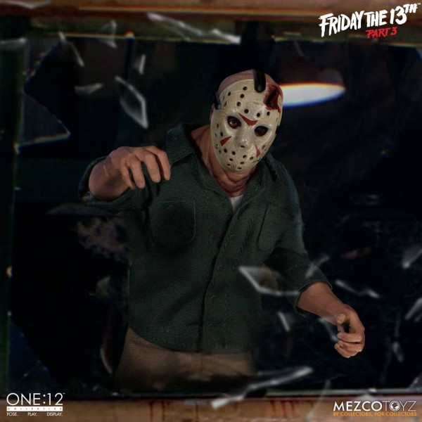 Friday the 13th - Part 3 ´The One:12 Collective´ Actionfigur 1/12 Jason Voorhees