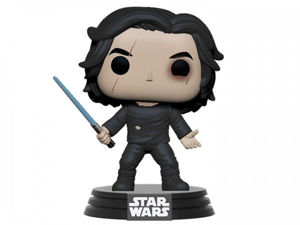 Star Wars Rise of Skywalker Funko Pop! Vinylfigur Ben Solo (with Blue Saber)