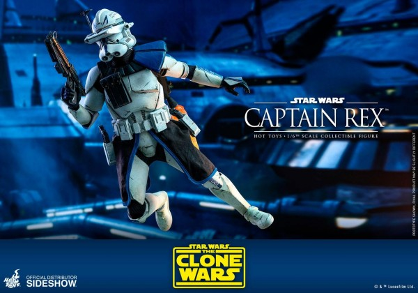Star Wars Clone Wars Television Masterpiece Actionfigur 1/6 Captain Rex
