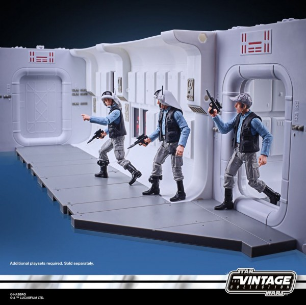 Star Wars Vintage Collection Playset Tantive IV Hallway & Rebel Fleet Trooper