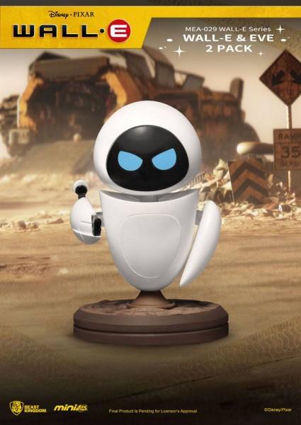 Wall-E 'Mini Egg Attack Action' Figuren Wall-E & Eve (2-Pack)