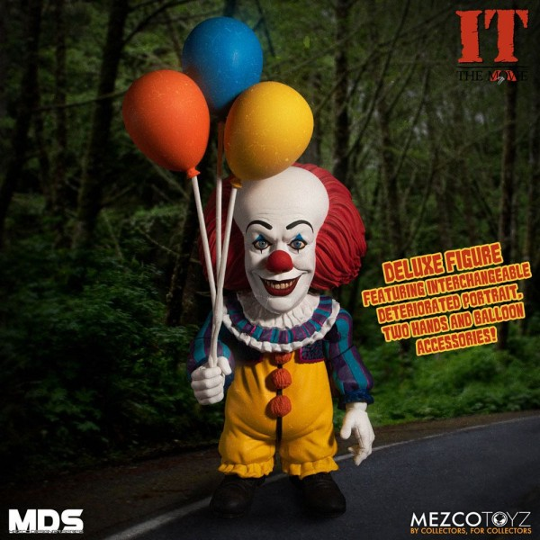 Stephen Kings It 1990 MDS Series Actionfigur Pennywise (Deluxe)