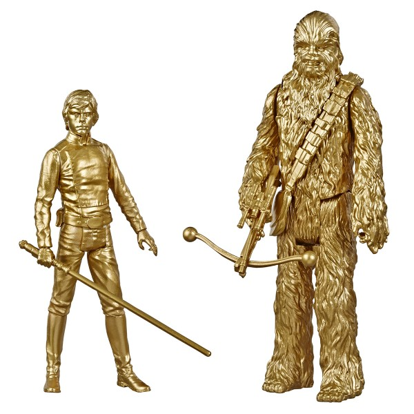 Star Wars Skywalker Saga Actionfiguren 10 cm Luke Skywalker & Chewbacca (Commemorative Edition)