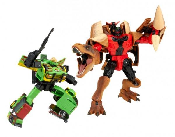 Transformers x Jurassic Park Tyrannocon Rex & JP93 (2-Pack) Exclusive