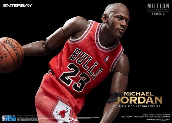 NBA Collection Motion Masterpiece Actionfigur 1/9 Michael Jordan