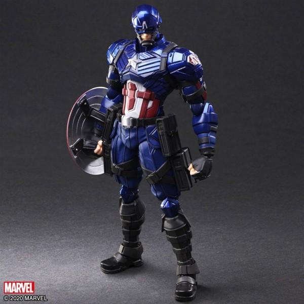 Marvel Bring Arts Actionfigur Captain America by Tetsuya Nomura