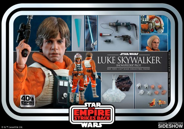 Star Wars Movie Masterpiece Actionfigur 1/6 Luke Skywalker (Snowspeeder Pilot) (Ep V)