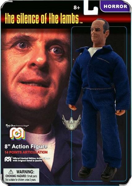 Schweigen der Lämmer Mego Retro Actionfigur Hannibal Lecter