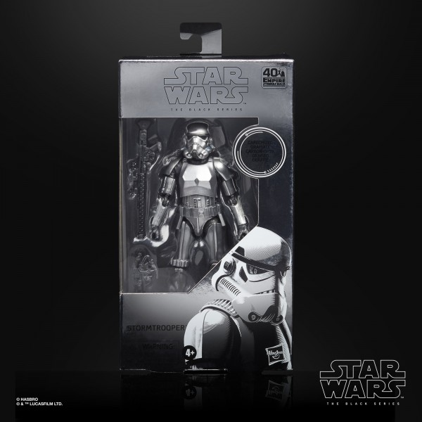 Star Wars Black Series Actionfigur 15 cm Stormtrooper (Carbonized) Exclusive