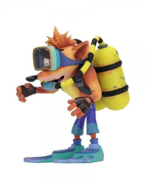 Crash Bandicoot Actionfigur Scuba Crash (Deluxe)
