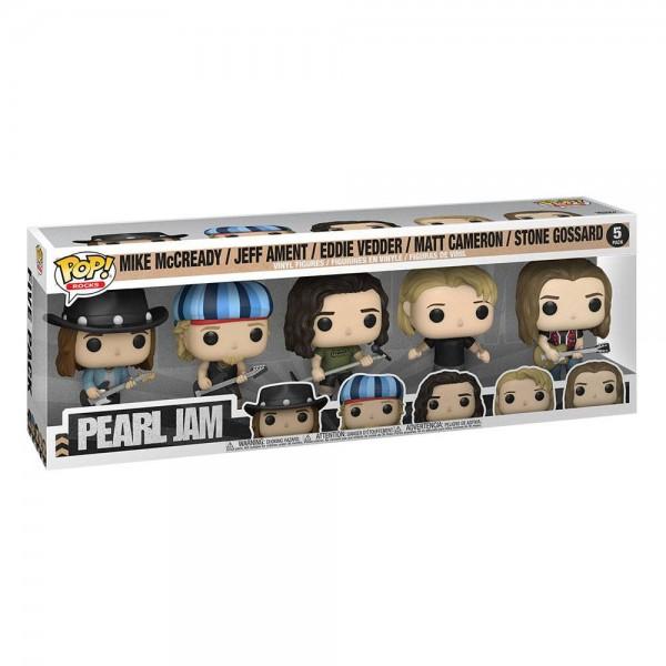 Pearl Jam Funko Pop! Vinylfiguren (5-Pack)