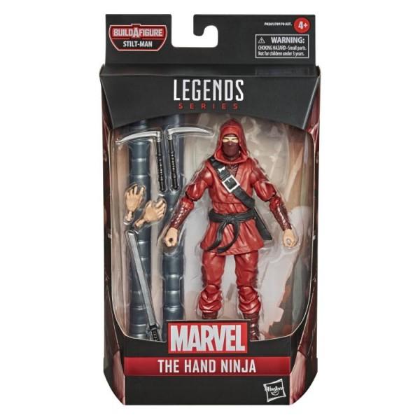 Spider-Man Into The Spider-Verse Marvel Legends Actionfigur The Hand Ninja