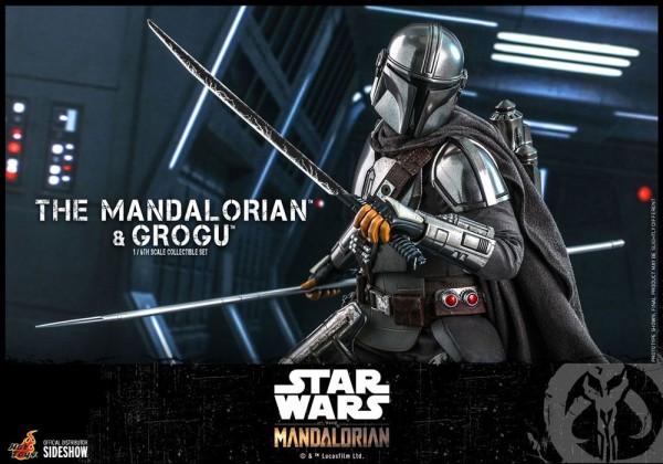Star Wars The Mandalorian Television Masterpiece Actionfiguren 1/6 The Mandalorian & Grogu (2-Pack)