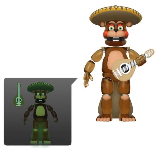 Five Nights at Freddy's Pizza Simulator Actionfigur Rockstar El Chip (Translucent & Glow)