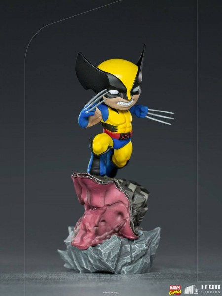 Marvel Minico PVC Figur Wolverine (X-Men) Deluxe