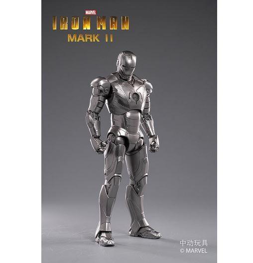 ZD Toys Actionfigur 1/10 Iron Man Mark II