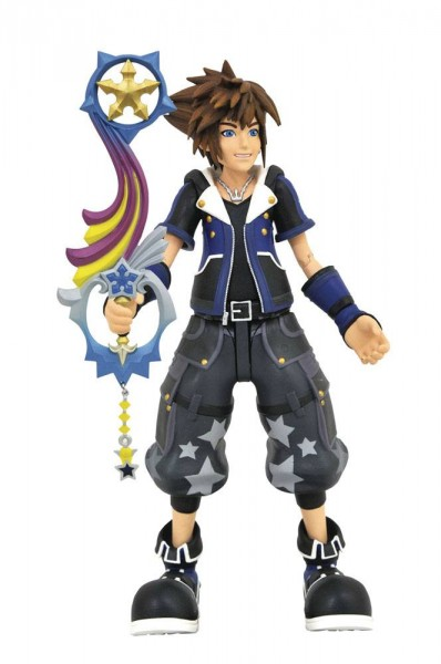 Kingdom Hearts 3 Select Actionfigur Wisdom Form Toy Story Sora