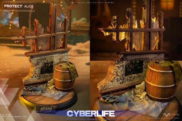 VTS Toys Cyberlife 1/6 Actionfigur Detroit Revolution Kara