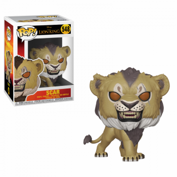 Lion King 2019 Funko Pop! Vinylfigur Scar 548