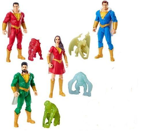 Shazam Movie Basic 15 cm Actionfiguren-Set (4)
