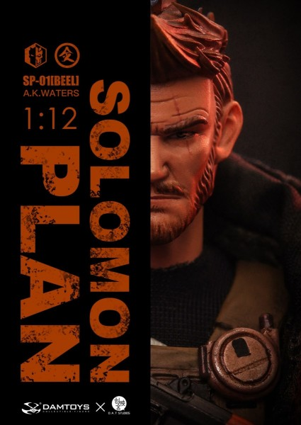 DAMTOYS Solomon in Plan Actionfigur 1/12 A.K. Waters (Deluxe Edition)