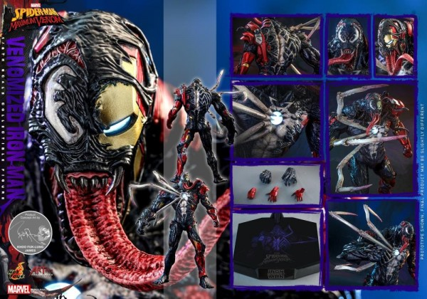 Marvel's Spider-Man: Maximum Venom Artist Collection Actionfigur 1/6 Venomized Iron Man