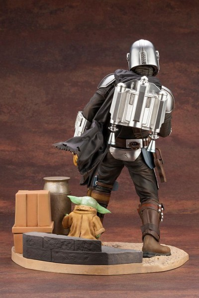 Star Wars The Mandalorian ARTFX Statue 1/7 Mandalorian & The Child