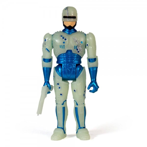 Robocop ReAction Actionfigur Robocop (Battle Damaged) Glow-in-the-Dark