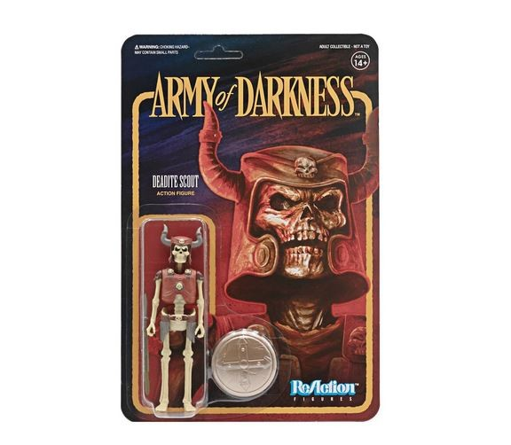 Army of Darkness ReAction Actionfigur Deadite Scout