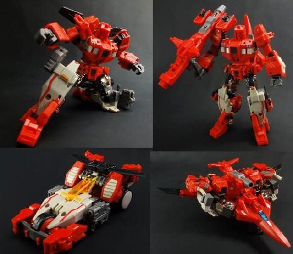 X2 Toys XT005 Gemini Set Furrow & Rotor mit DKR002