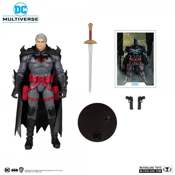 DC Multiverse Actionfigur Batman Unmasked (Flashpoint)