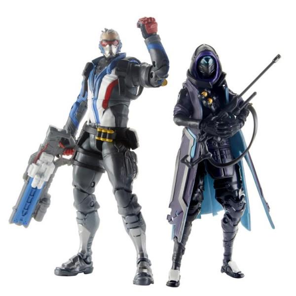 Overwatch Ultimates Actionfiguren Ana & Soldier: 76 (2-Pack)