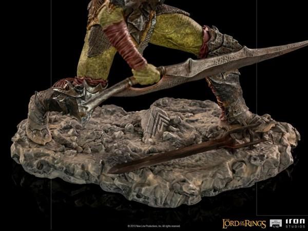 Herr der Ringe BDS Art Scale Statue 1/10 Swordsman Orc