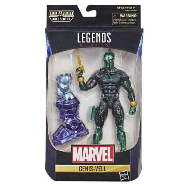 Captain Marvel Marvel Legends Actionfigur Genis-Vell