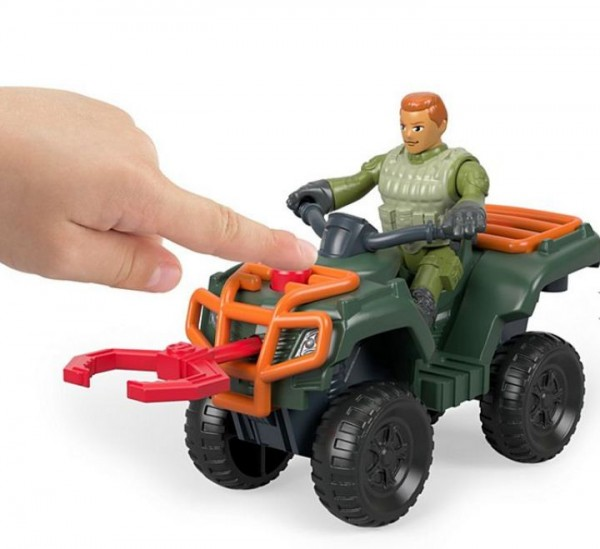 Jurassic World Fallen Kingdom Imaginext ATV & Technician