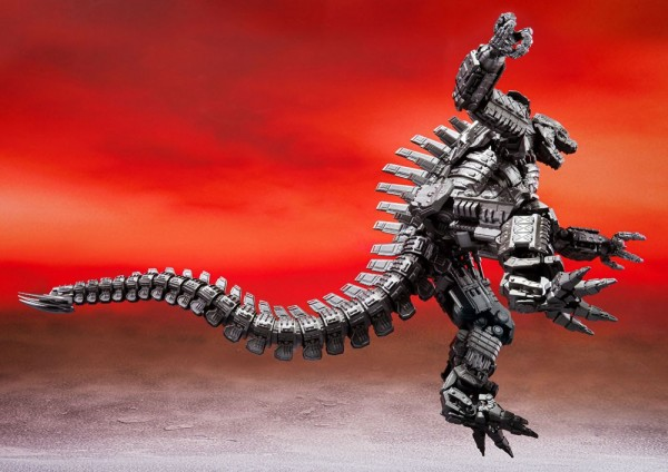 Godzilla vs. Kong 2021 S.H. MonsterArts Actionfigur Mechagodzilla