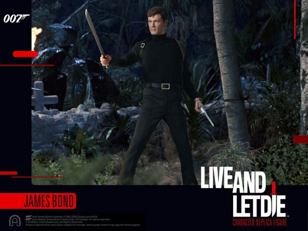 James Bond Live And Let Die Actionfigur 1/6 James Bond (Roger Moore)