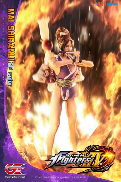 Genesis King of Fighters XIV 1/6 Actionfigur Mai Shiranui (2P Color)