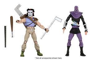 Teenage Mutant Ninja Turtles Actionfiguren Cartoon Casey Jones & Foot Soldier (2-Pack)