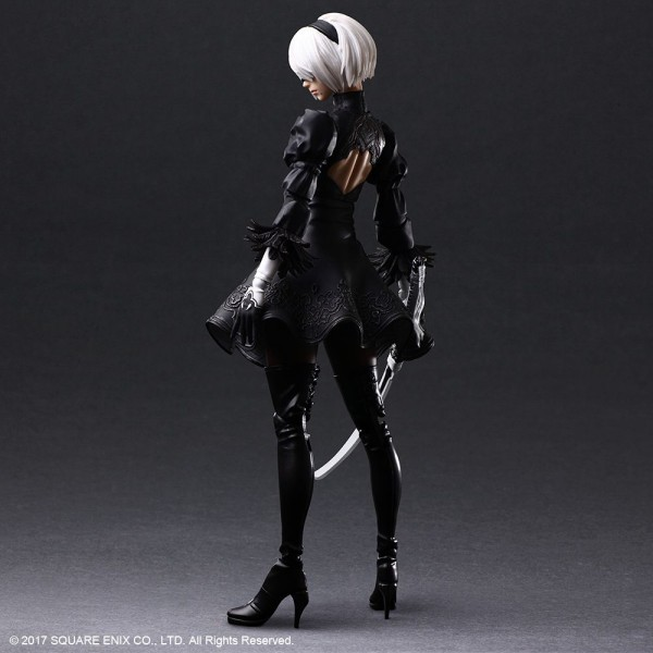 NieR Automata Play Arts Kai Actionfigur 2B (YoRHa No.2 Type B)