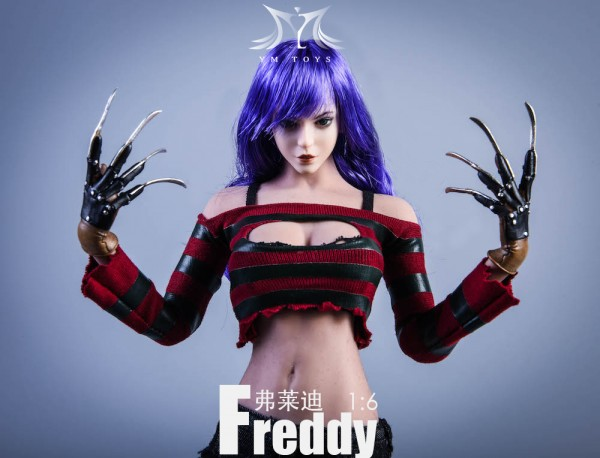 YMTOYS 1/6 Freddy Girl (Costume & Head)