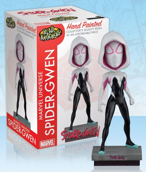 Marvel Head Knocker Wackelkopf-Figur Spider-Gwen